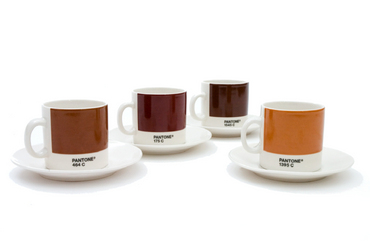 Pantone expresso cups