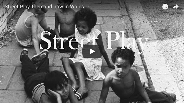 Youtube video of kids playing on the street in Wales - like it usta be:-)