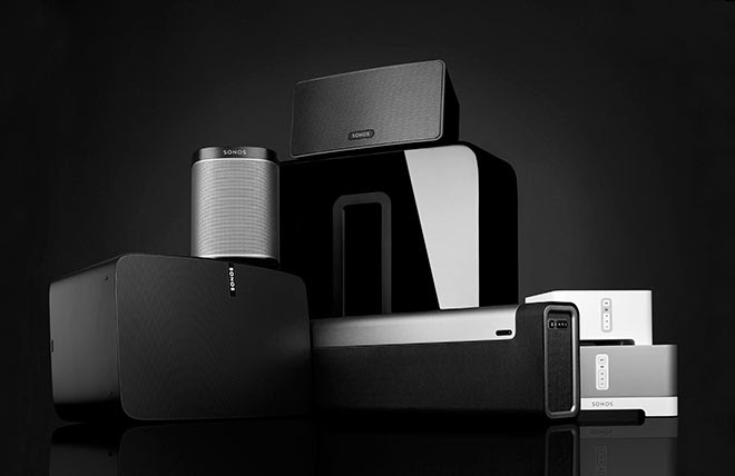 Lots of lovely and expensive SONOS clobber