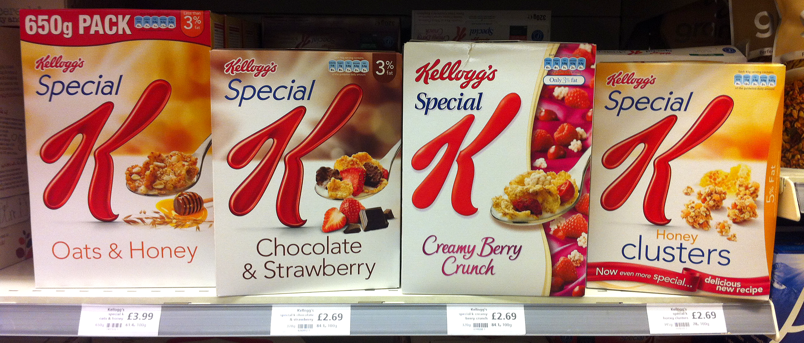 Hey Special K, what is wrong with this picture?